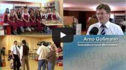 Bild zeigt YouTube Vorschaubild auf den Imagefilm der Tafel Wiesbaden e.V.
